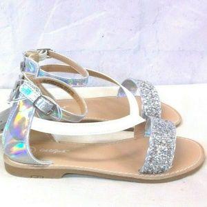 Girls' Kalyssa Asymmetrical Ankle Strap Sandals